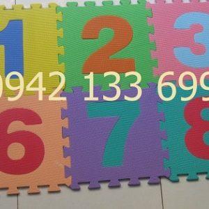 Thảm Cho Trẻ Em Hình Số